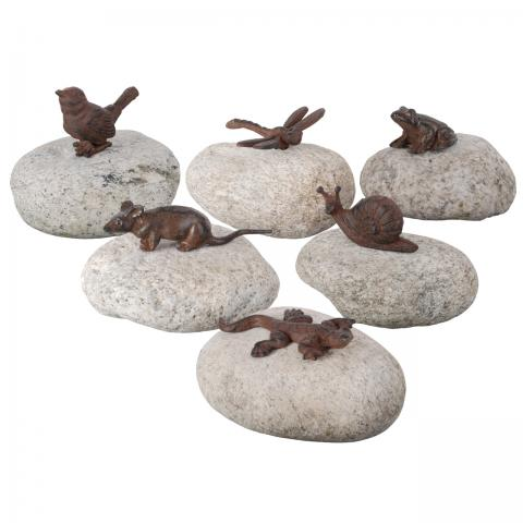 Animals on the rocks - Esschert Design-Slak