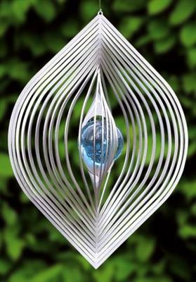 Wind spinner blad met 35 mm kogel-Aqua