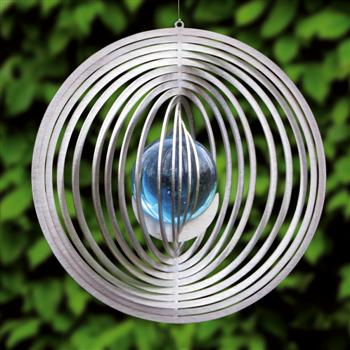 Wind spinner cirkel met 35 mm kogel-Groen