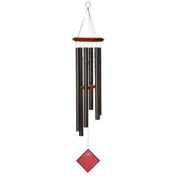 Woodstock windgong Chimes of Earth zwart
