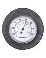 Thermometer rond leisteen / Outhings