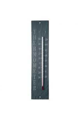 Leisteen thermometer tekst / Outhings