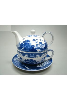 Tea for one set Blue Willow