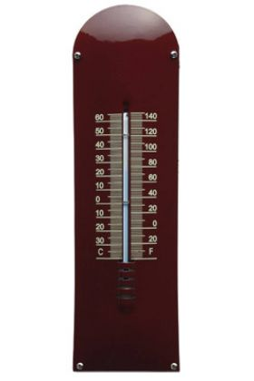 Thermometer Bordeaux rood / Créme blanco