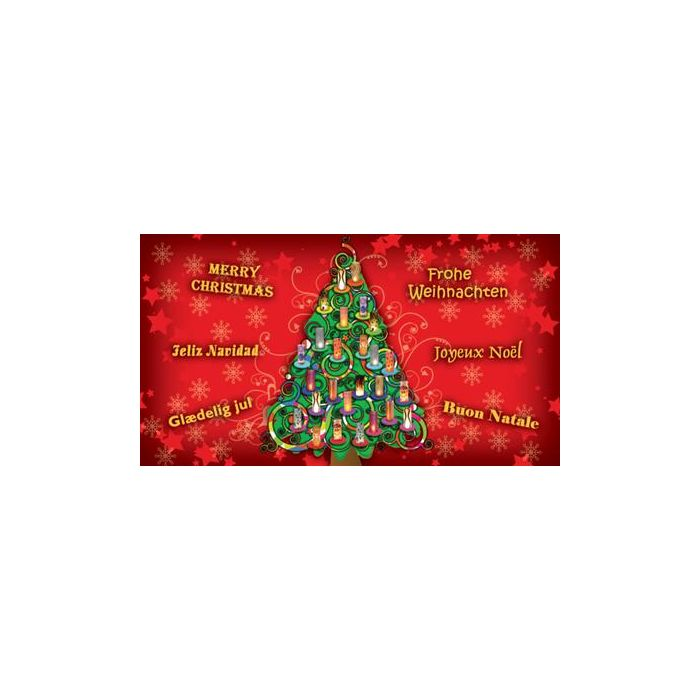 Candlecover kerstboom CC-73