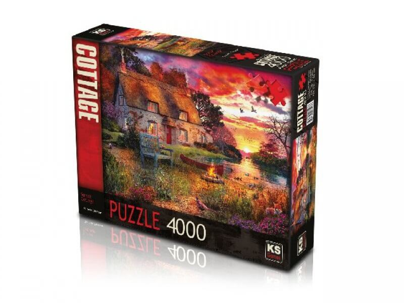 Legpuzzel Sunset Cottage 4000 stukjes