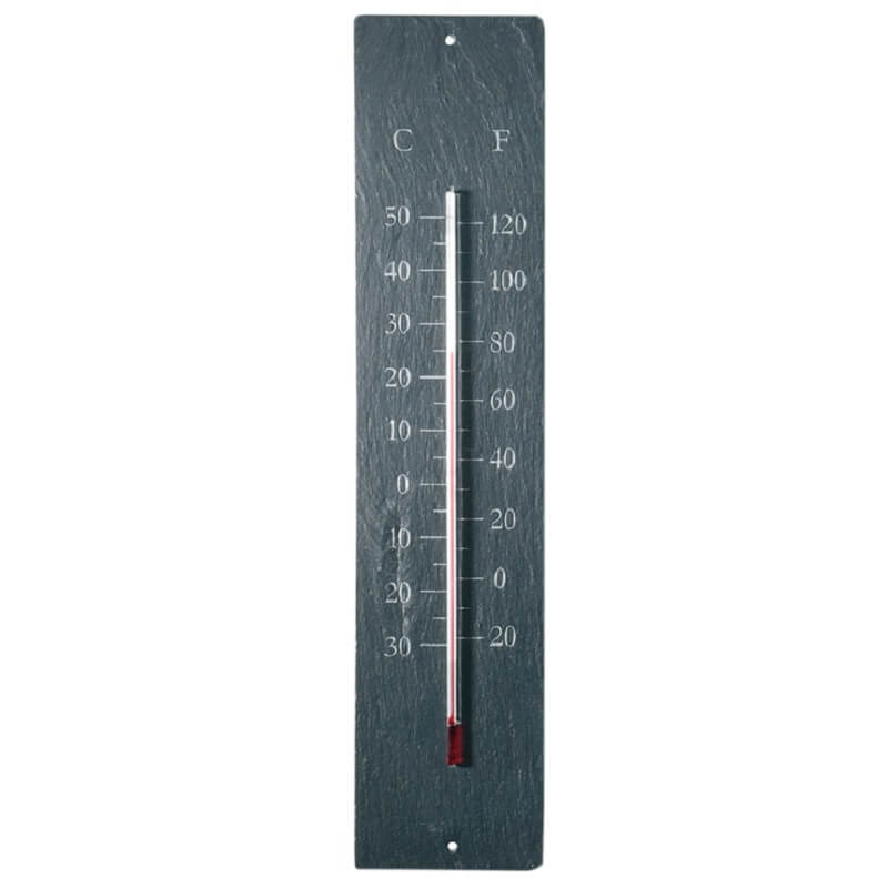 Leisteen thermometer klassiek - Outhings