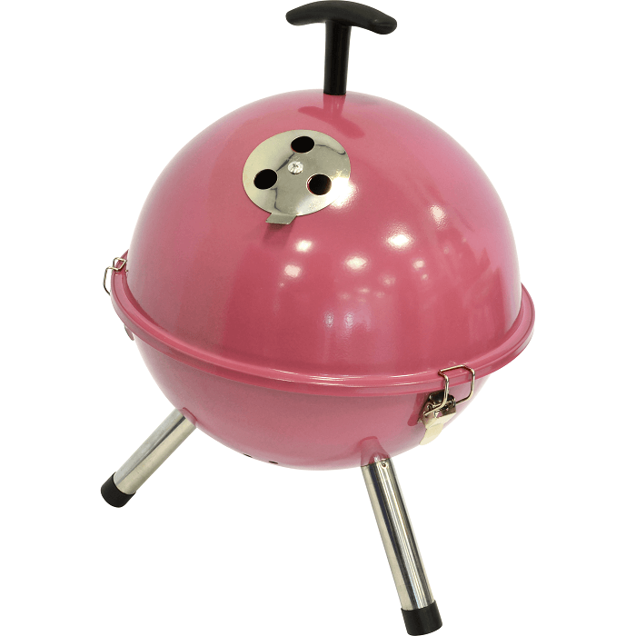 Barbecue tafelmodel kogel Pink