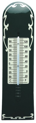 Thermometer Deco Groen - Cr�me
