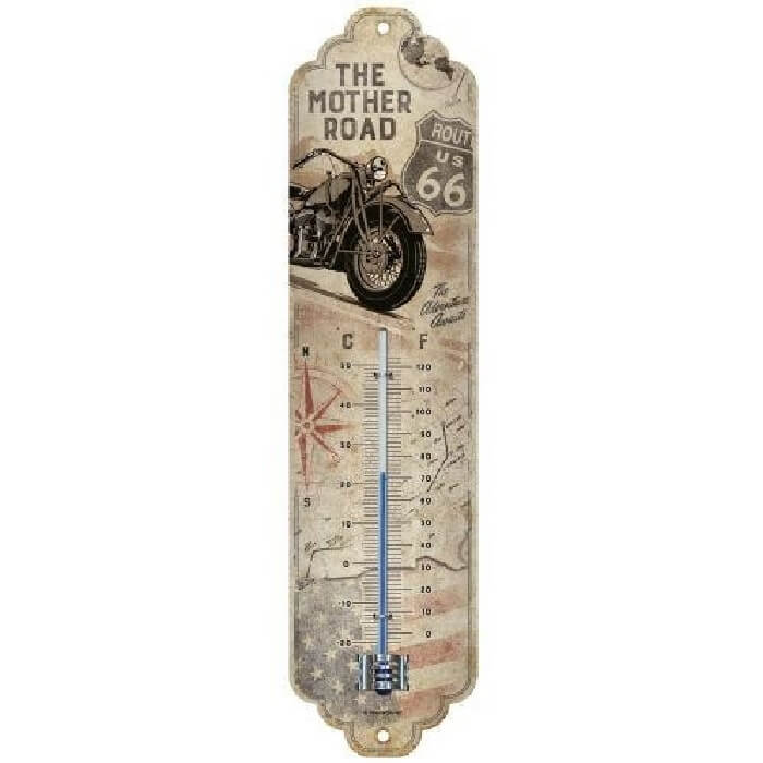 Thermometer route 66 motor