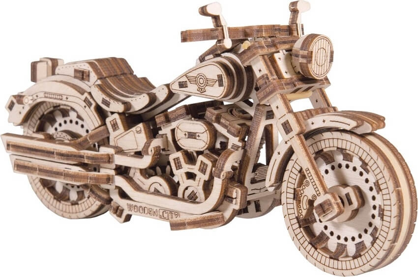 Wooden city cruiser v-twin modelbouw